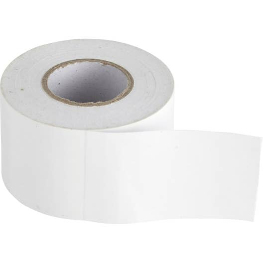 ruban adh sif blanc 3 3 x 5 cm thermimport leroy merlin. Black Bedroom Furniture Sets. Home Design Ideas