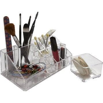 Organiseur en plastique transparent, Beauty