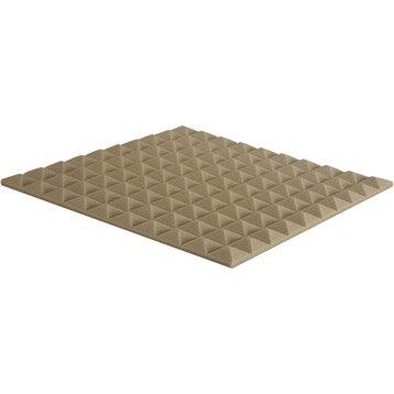 Plaque mur et plafond NOMA ACOUSTIC l.500 x L.500 mm, Ep.25 mm