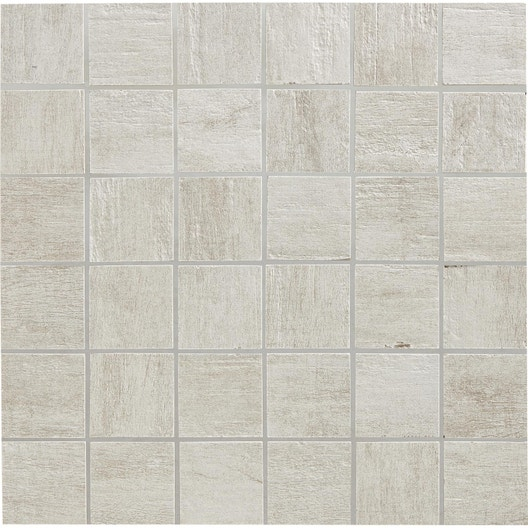 mosa que sol et mur taiga blanc 5 x 5 cm leroy merlin. Black Bedroom Furniture Sets. Home Design Ideas