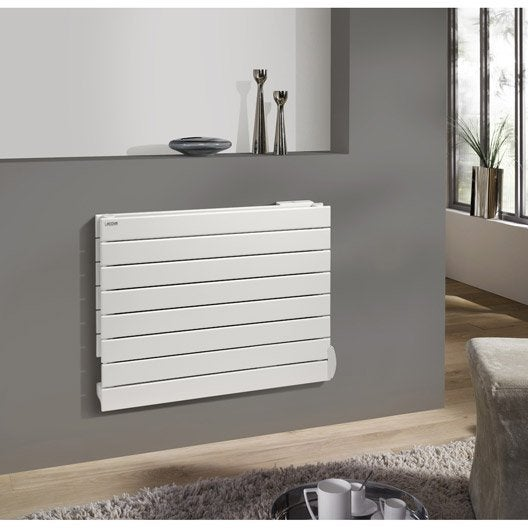 radiateur lectrique inertie fluide acova lina 1000 w leroy merlin. Black Bedroom Furniture Sets. Home Design Ideas