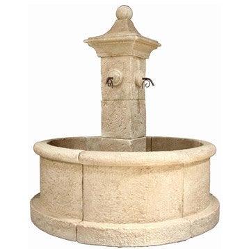Fontaine et cascade d 39 exterieur pierre fonte leroy merlin - Fontaine cascade exterieur ...