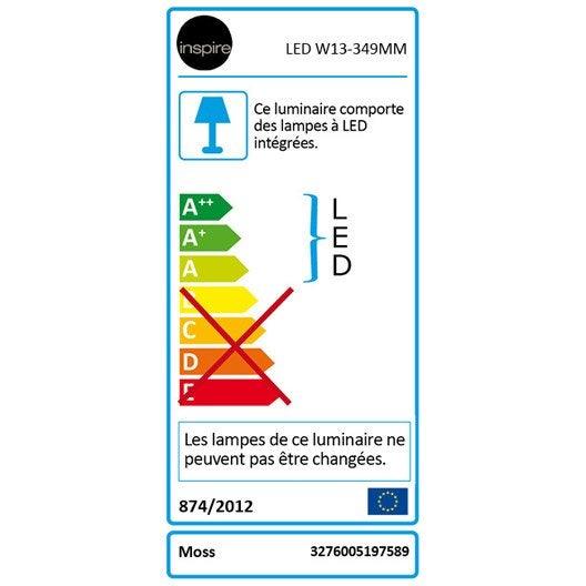 Réglette Moss, LED 1 x 4 W, LED intégrée