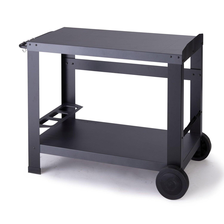 chariot pour plancha naterial murcia gris leroy merlin. Black Bedroom Furniture Sets. Home Design Ideas
