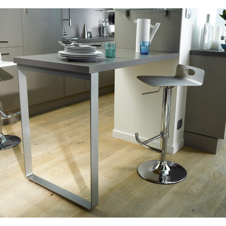 pied gris x cm leroy merlin. Black Bedroom Furniture Sets. Home Design Ideas