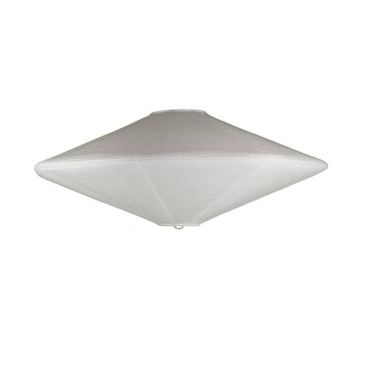 suspension sans cordon style nature joyo papier blanc 1 inspire leroy merlin. Black Bedroom Furniture Sets. Home Design Ideas