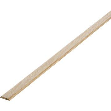Champlat pin 2 arrondis sans noeud, 4 x 27 mm, L.2.4 m