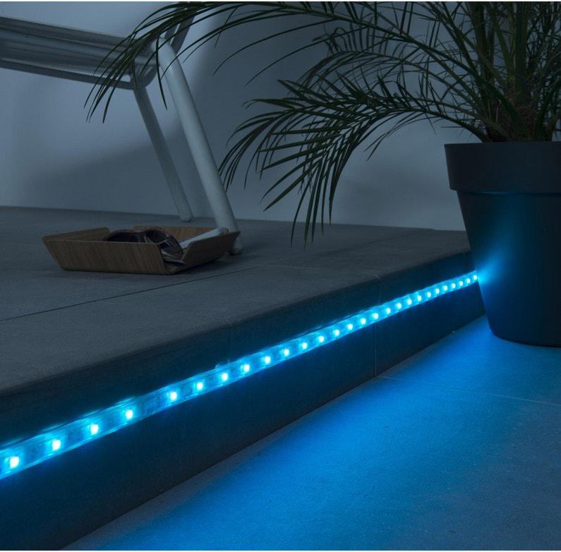 commander en ligne Site officiel une performance supérieure Ruban LED 1 m extérieur LED intégrée = 120 Lm, couleurs changeantes INSPIRE