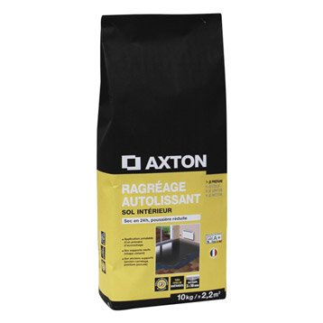 Ragréage autolissant AXTON, 10 kg