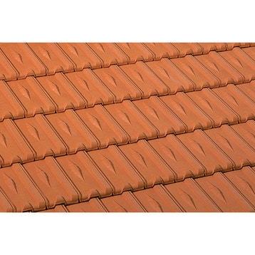tuile ardoise tuile canal plate romane au meilleur prix leroy merlin On ardoise rouge toiture