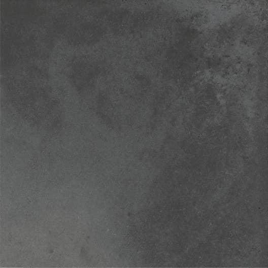 Carrelage sol et mur gris foncé uni aspect carreau de ciment Gatsby ...