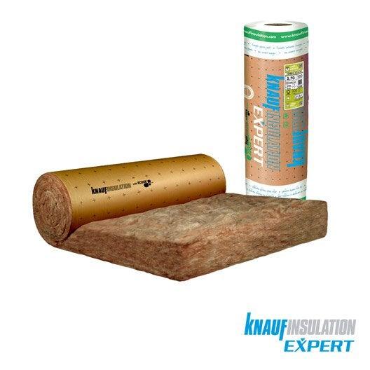 laine de verre kraft knauf insulation 3 x 1.2 m, ep. 200 mm, 035