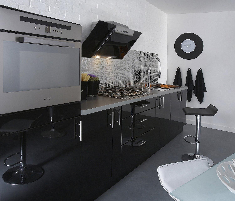 Une Cuisine Elegante Et Fonctionnelle Leroy Merlin