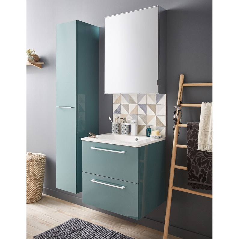 meuble vasque 60 cm leroy merlin. Black Bedroom Furniture Sets. Home Design Ideas