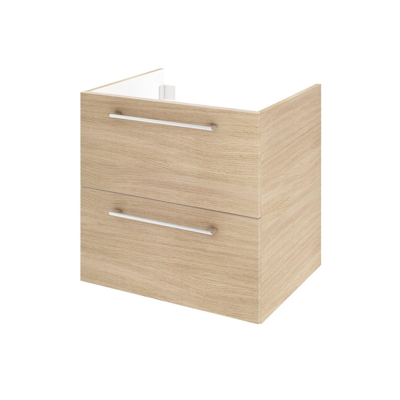 meuble sous vasque x x cm d cor imitation. Black Bedroom Furniture Sets. Home Design Ideas