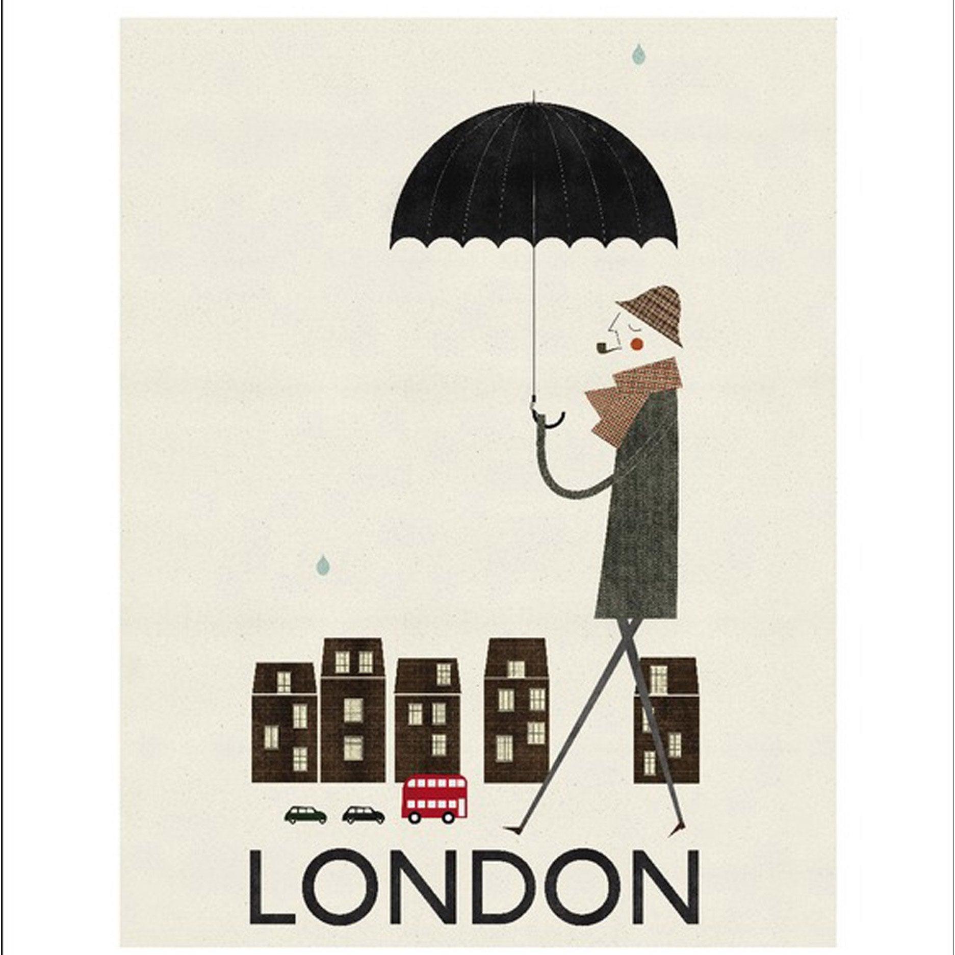 Affiche London l.40 x H.50 cm