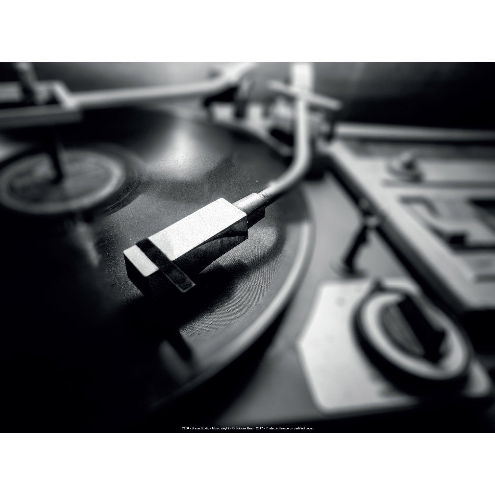 Affiche Music vinyl l.40 x H.30 cm