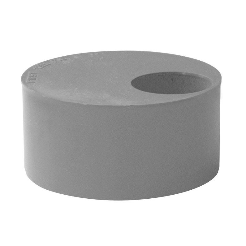 Tampon De Réduction Simple Pvc Diam8075 Mm First Plast