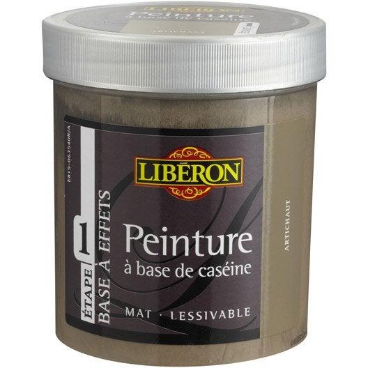 Peinture à effet Base caséine mat profond LIBERON, argile, 0.5 l