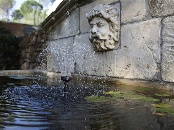 Installer un bassin ou une fontaine leroy merlin for Bache pour bassin leroy merlin
