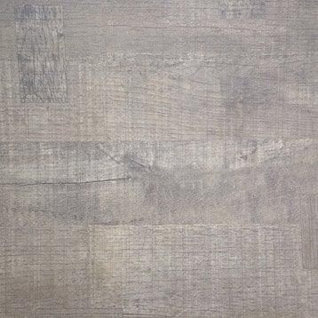 Plateau de table aggloméré décor cabanon, L.120 x l.70 cm x Ep.18 mm