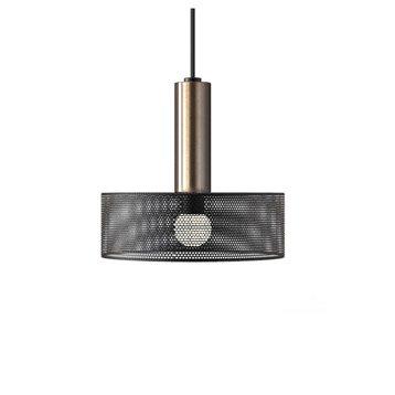 Suspension Design Thyzen métal noir 1 x 23 W MATHIAS