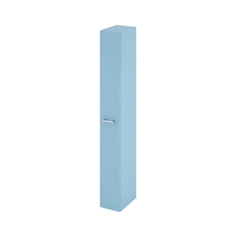 Colonne De Salle De Bains L 22 X H 173 X P 34 8 Cm Bleu 3d Remix