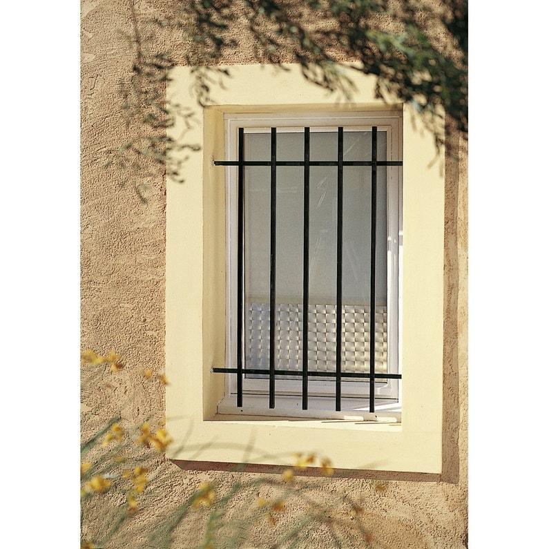 Grille De Défense Pour Fenêtre Levant L100 X H60 Cm Leroy Merlin