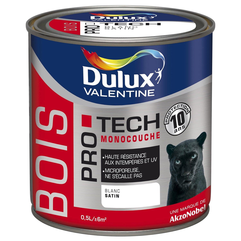 peinture bois ext rieur protech dulux valentine gris anthracite 0 5 l leroy merlin. Black Bedroom Furniture Sets. Home Design Ideas