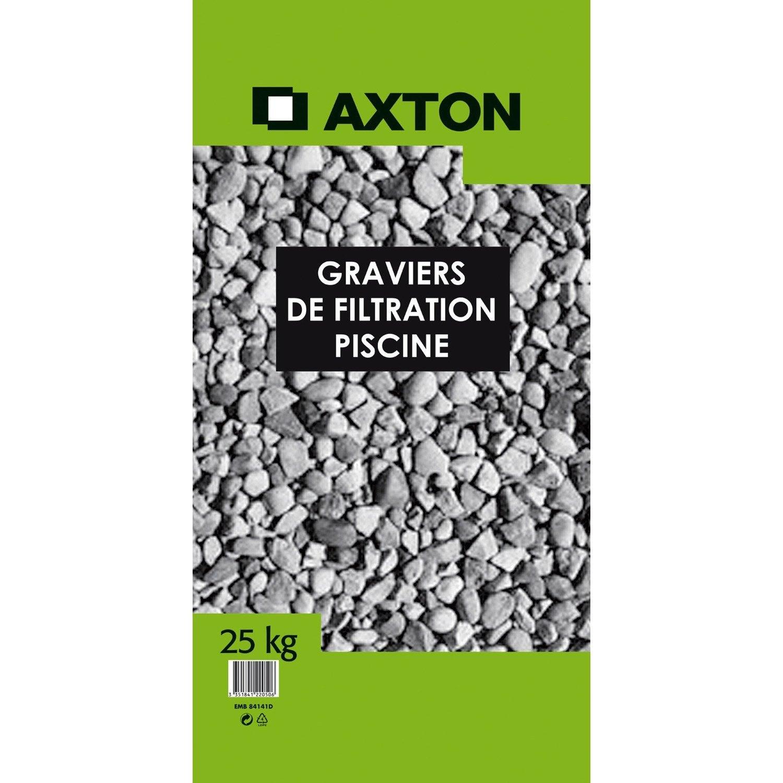 Graviers De Filtration Axton 25 Kg Leroy Merlin