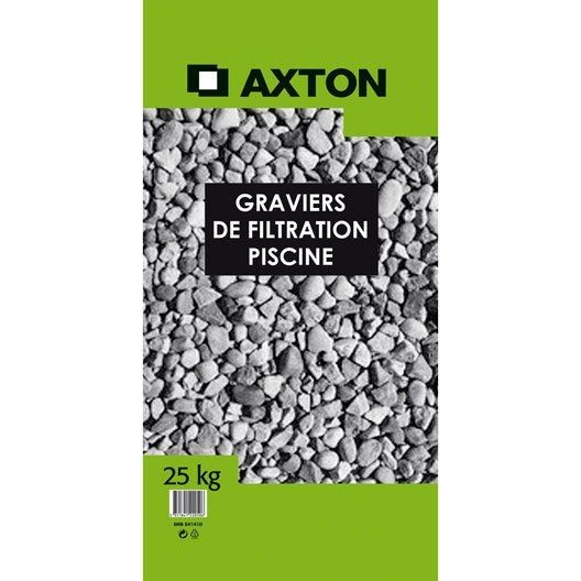 graviers de filtration axton 25 kg leroy merlin. Black Bedroom Furniture Sets. Home Design Ideas