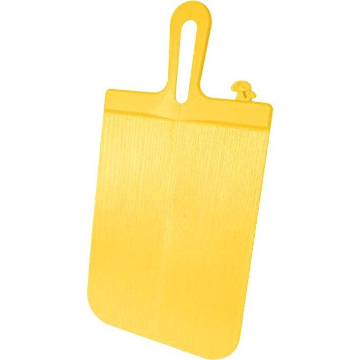 Planche à découper en plastique pliable jaune anis n°4