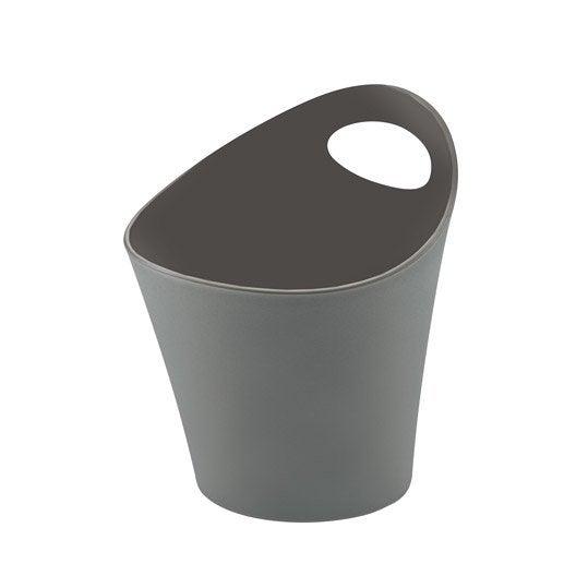 Pot range couverts plastique gris gris n 1 leroy merlin for Pot a couverts cuisine