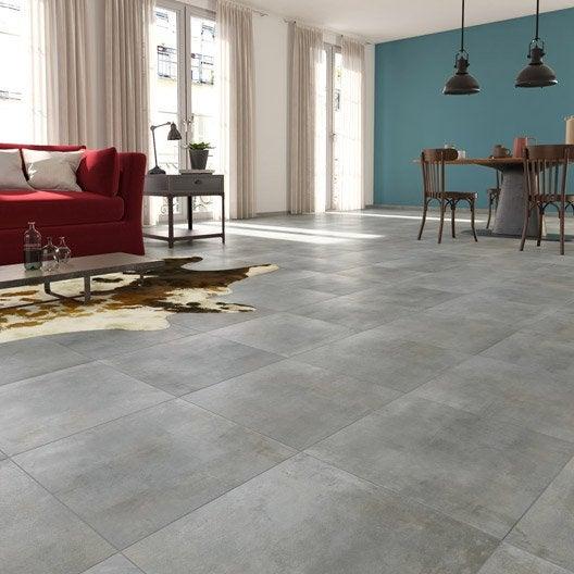 carrelage sol et mur gris clair effet bton laiton l30 x l604 - Carrelage Salle De Bain Effet Beton