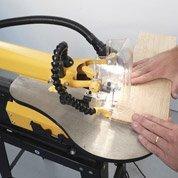 Utiliser une scie à chantourner (45 min - 1h)
