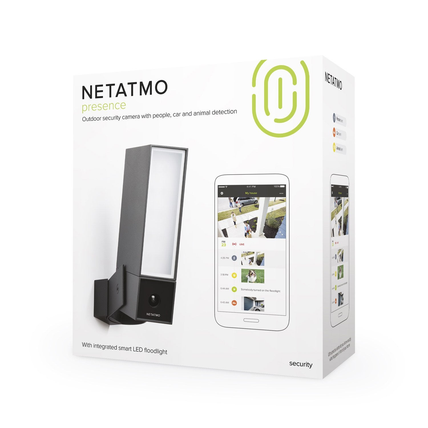 cam ra connect e presence netatmo cam ra connect e. Black Bedroom Furniture Sets. Home Design Ideas