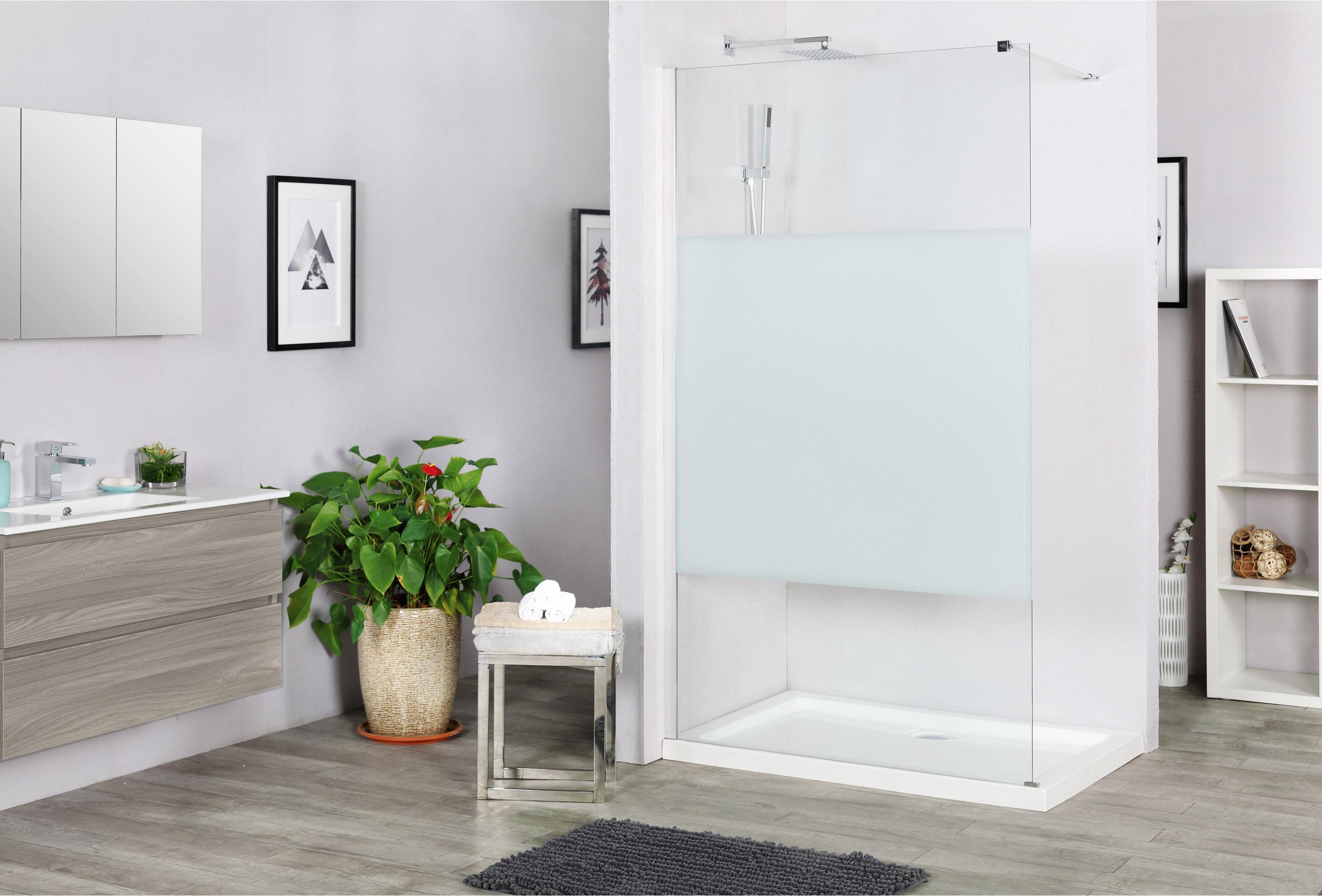 paroi de douche l 39 italienne cm remix verre. Black Bedroom Furniture Sets. Home Design Ideas