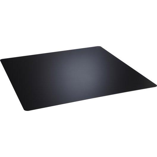 Plaque de protection sol acier noir atelier dix neuf - Plaque acier protection poele ...