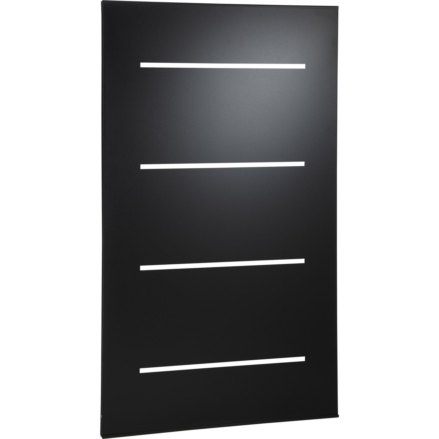 plaque de protection murale noir atelier dixneuf horizon cm x cm leroy merlin. Black Bedroom Furniture Sets. Home Design Ideas