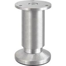 Pied de meuble pied d 39 ameublement roue et roulette leroy merlin - Pied metal pour meuble ...