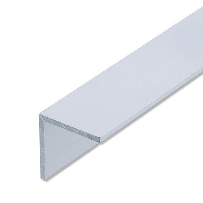 corni re gale aluminium anodis l 1 m x l 4 cm x h 4 cm leroy merlin. Black Bedroom Furniture Sets. Home Design Ideas