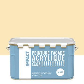 Peinture façade Acrylique IMPACT, ton pierre, 2.5 l