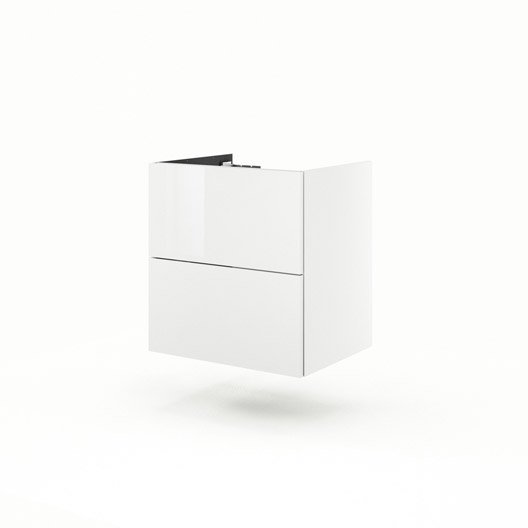 Meuble sous vasque x x cm blanc neo line leroy merlin - Leroy merlin meuble sous vasque ...