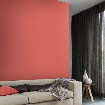 Papier peint intissé Paillette orange