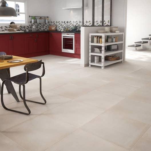 carrelage sol beige effet ciment tonnerre x. Black Bedroom Furniture Sets. Home Design Ideas