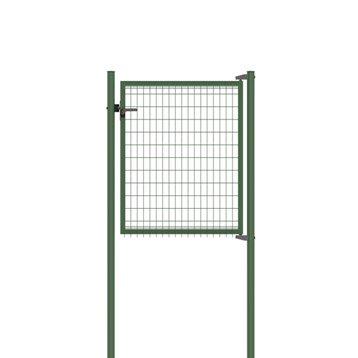 Portillon Soudé Bekafor classic vert H.1.23 x L.1.17m, maille 100x50mm