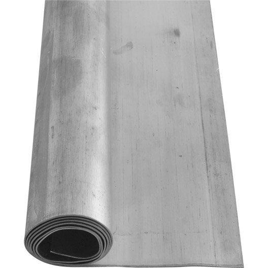rouleau de plomb scover plus gris mm x m leroy merlin. Black Bedroom Furniture Sets. Home Design Ideas
