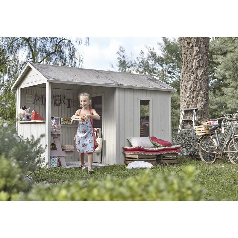Maisonnette bois Cyrielle SOULET , 3.46 m²