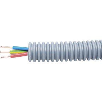 Gaine lectrique pr fil e fil lectrique c ble et gaine - Gaine exterieure pour cable electrique ...