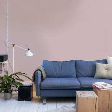 Papier peint intissé Paillette rose blush n°6